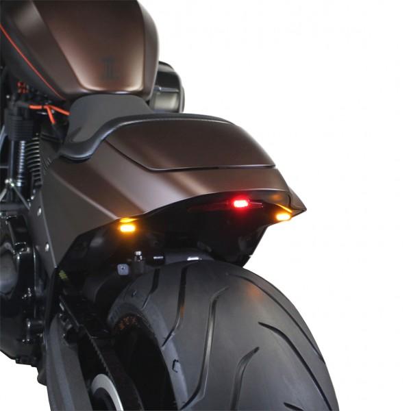 """IOMP"" LED Blinker & Rücklicht Kit 4-teilig für Harley Davidson FXDR ab Bj. 2019"