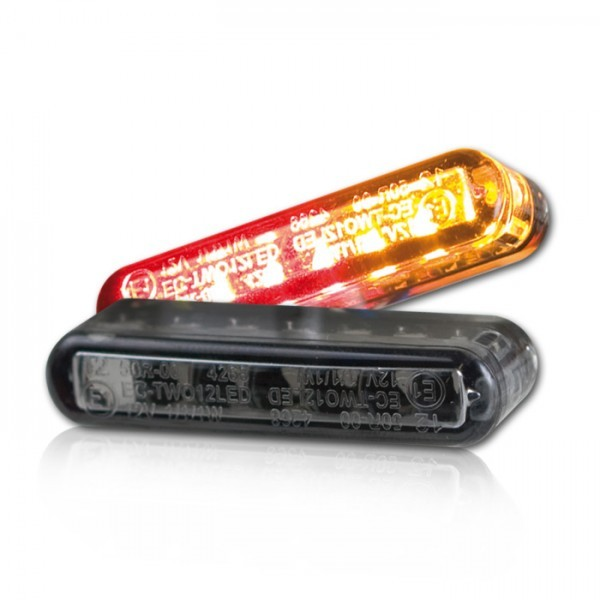 LED Einbaublinker 3 in 1 | 40 x 8 x 13 mm