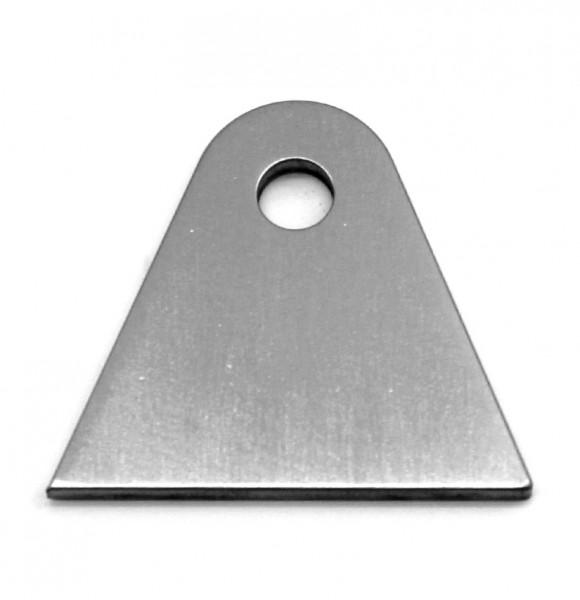 Anschweiß Lasche Typ2 57/9mm für Fender Umbauten