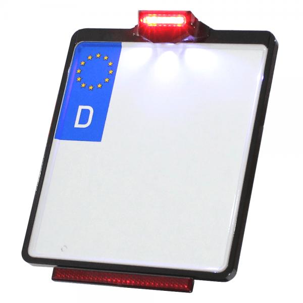 Kennzeichenplatte IOMP | Rücklicht | Kennzeichenbeleuchtung