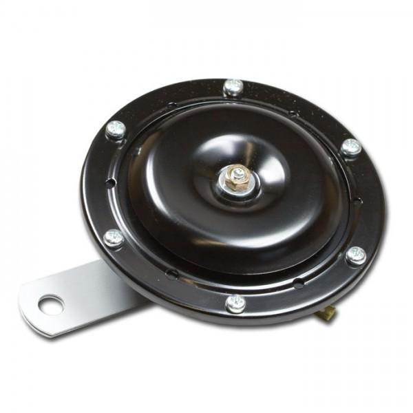 Hupe 12 V, groß, Ø 100 mm, schwarz, E-geprüft