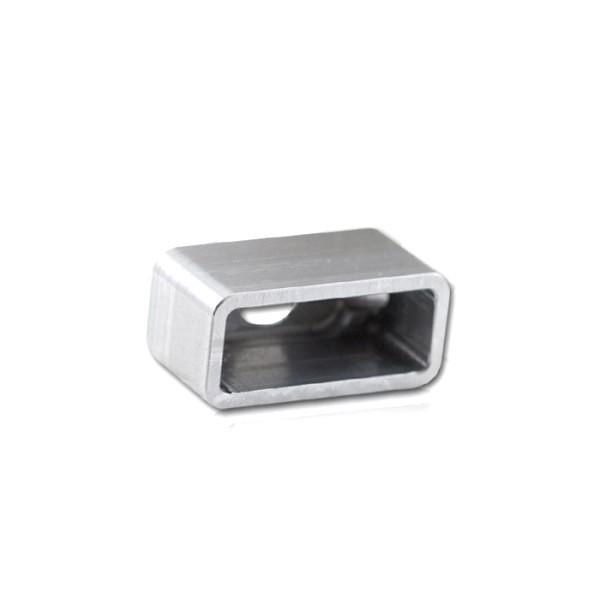 Einschweissgehäuse für LED - Einbaurücklicht, 284298 / 284299 , Maße: B 31,5 x H 14,5 x T 16,2 mm