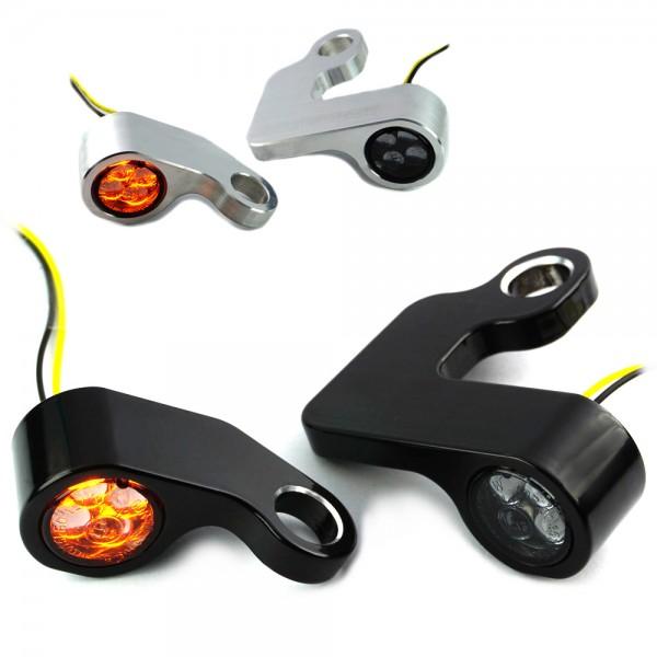 IOMP Lenkerarmaturen SMD Blinker / D 16 / für HD Modelle