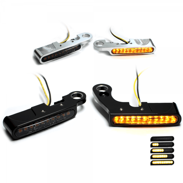 IOMP Lenkerarmaturen Sequenz LED Blinker - 53x7 - für HD Modelle
