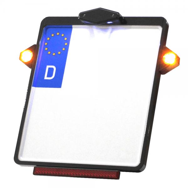 Kennzeichenplatte IOMP | Kennzeichenbeleuchtung | PINEY Blinker