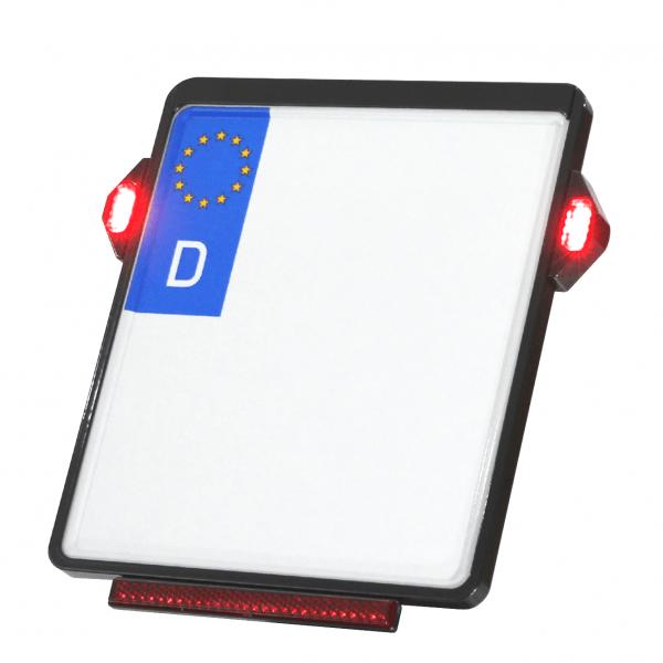 Kennzeichenplatte IOMP   TIG Rücklicht