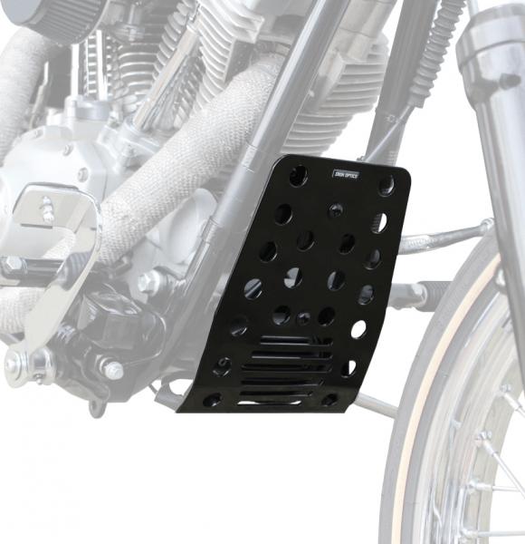 """""""IRON OPTICS"""" Bugspoiler / Motorschutz für Harley Davidson Softail bis Bj. 2008 / clean"""