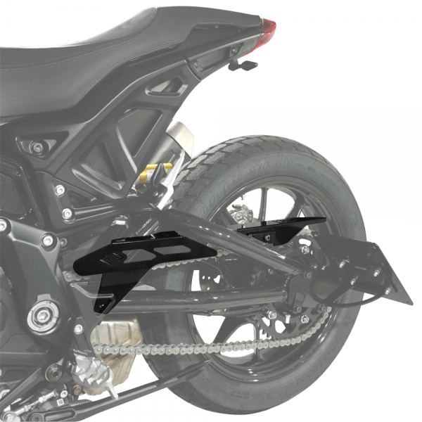 IRON OPTICS Kettenschutz für Indian FTR 1200 Modelle ab Bj. 2019