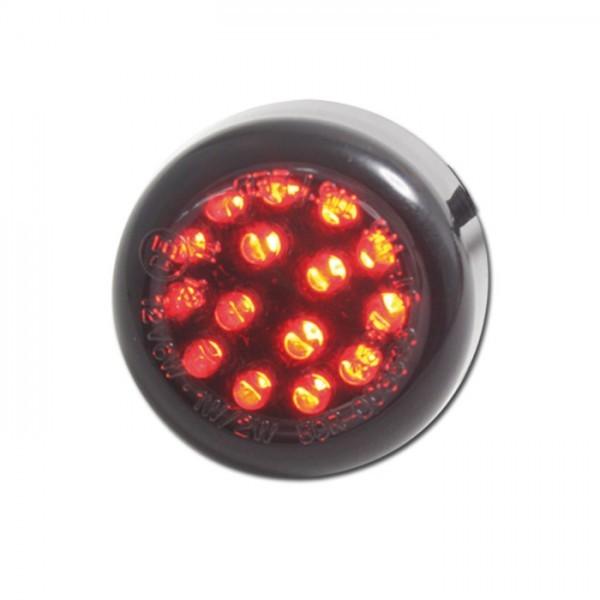 LED - Einbaurücklicht , getönt, M6, Maße: Ø=30 x T 14 mm, E-geprüft