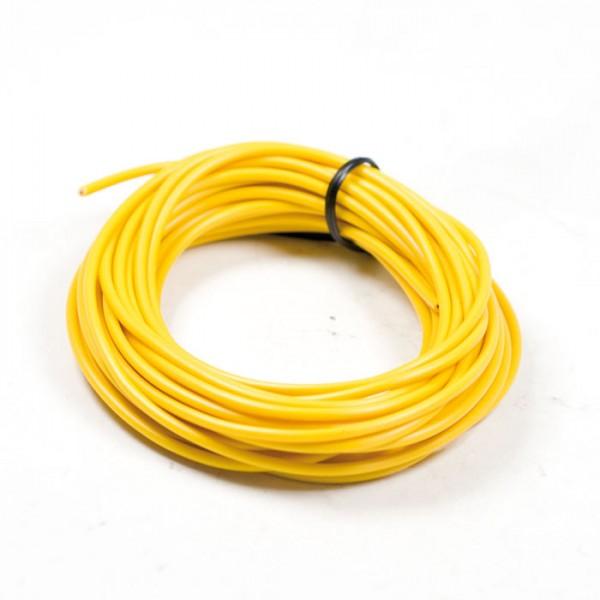 Elektrokabel Ø = 0,75 mm², 5 Meter, gelb, ausgelegt bis 10A / 120W