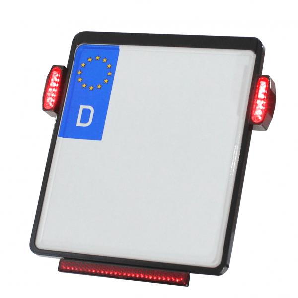 Kennzeichenplatte IOMP | JAX Rücklicht