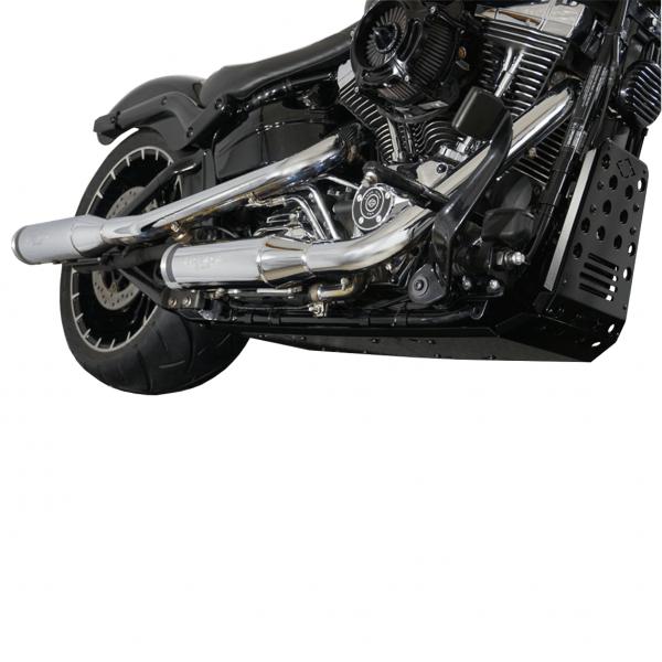 Motorschutz Unterfahrschutz Bugspoiler | schwarz/schwarz
