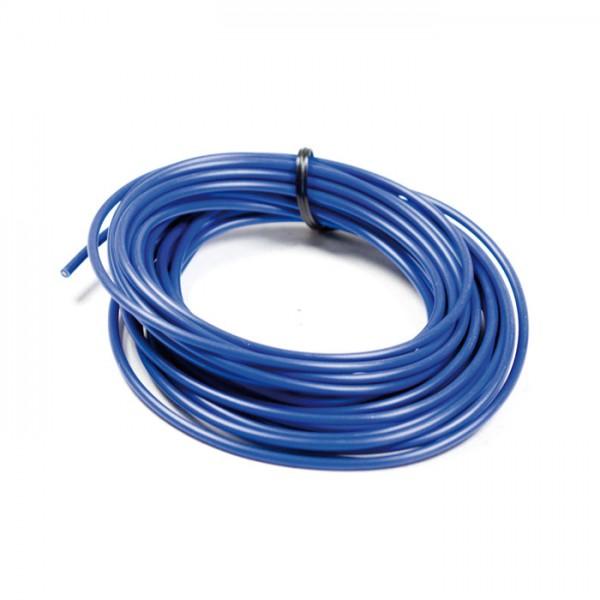Elektrokabel Ø = 0,75 mm², 5 Meter, blau, ausgelegt bis 10A / 120W