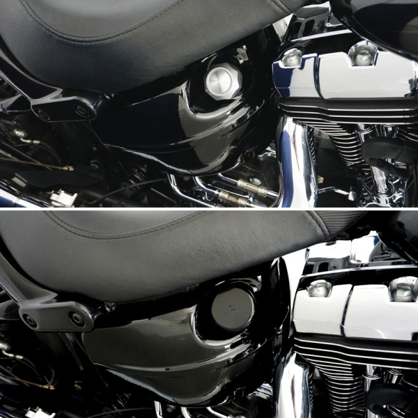 Ölstab Ölmeßstab Cover für Harley Davidon Softail Breakout Bj. 2013-2017
