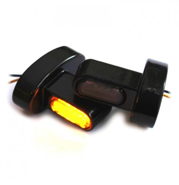 """""""IOMP"""" LED Blinker + Blinkerhalter MINI für Fender-Struts Typ 1 HD-Modelle"""