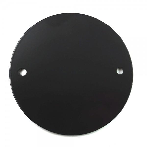 Point Cover / Zündungsdeckel schwarz für HD Big Twin Modelle / Harley Davidson Sportster Modelle