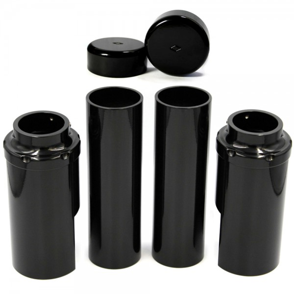 IRON OPTICS Gabel Cover SET 214 für Harley Davidson V-Rod Modelle Bj. 2007-2011