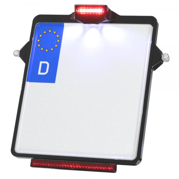 Kennzeichenplatte IOMP | Rücklicht | Kennzeichenbeleuchtung | für D5 Blinker