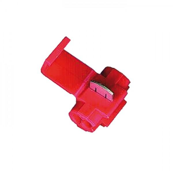 Abzweigverbinder   VPE 100 Stück   Rot   0,5 -1 mm  