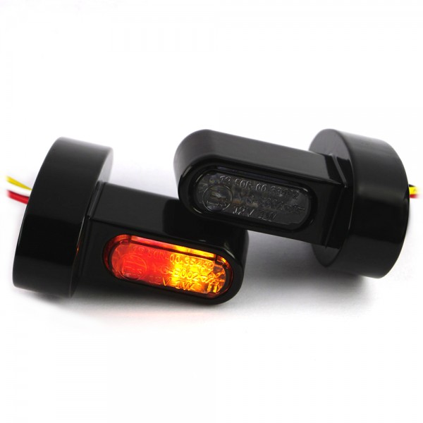IOMP LED Blinker 3in1 mini 21,5x8,5 Fender-Struts für HD-Modelle