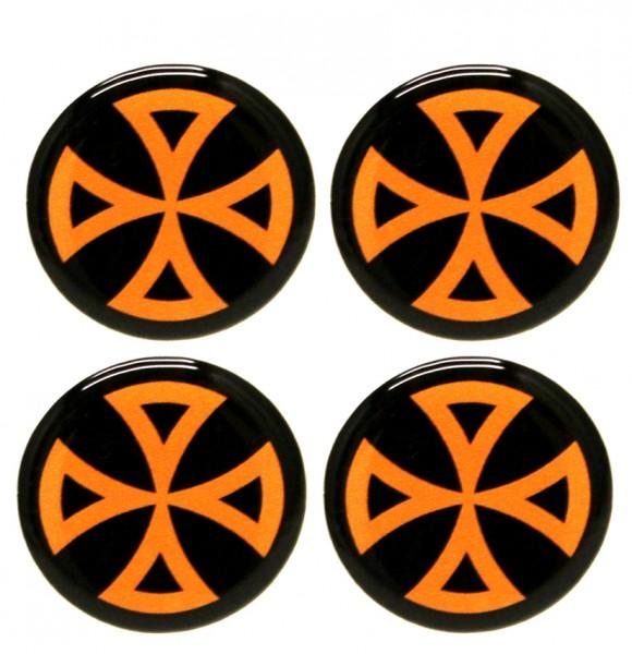 Cam-/ Nockenwellen Cover 3D | Kreuz Orange