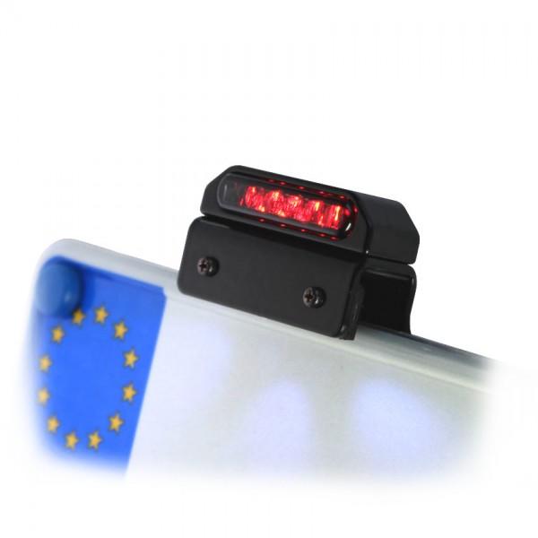 LED Kennzeichenbeleuchtung + Rücklicht / Bremslicht mit Halter