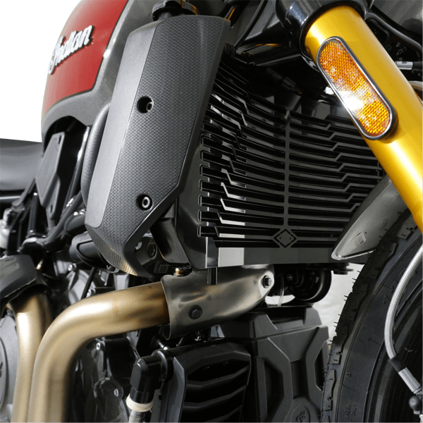 IRON OPTICS Kühlerabdeckung für Indian FTR 1200 Modelle ab Bj. 2019