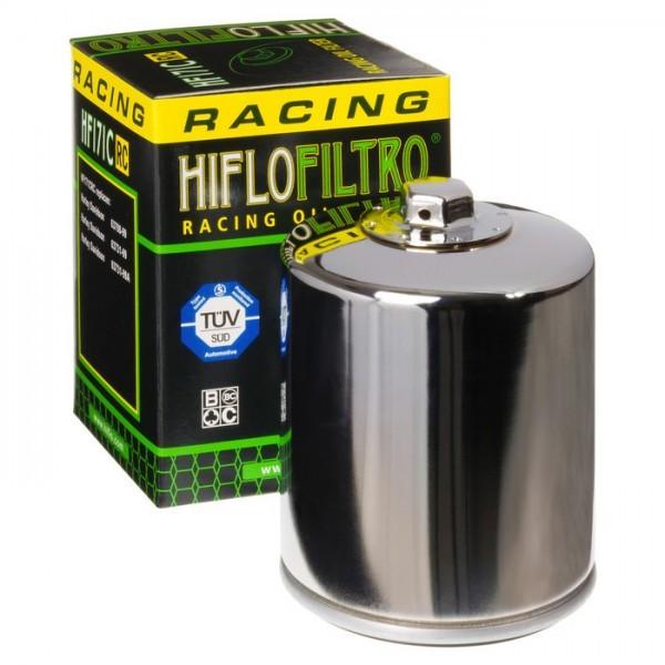 Hiflo Ölfilter Racing Chrom