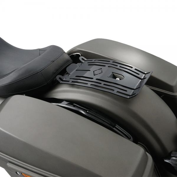 IRON OPTICS Gepäckträger für Harley Davidson Touring Modelle ab Bj. 2009 bis aktuell
