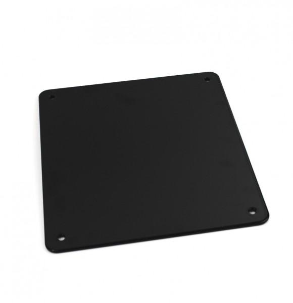 Kennzeichengrundplatte schwarz 180 mm x 200 mm