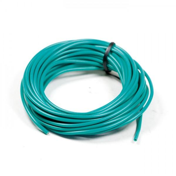 Elektrokabel Ø = 0,75 mm², 5 Meter, grün, ausgelegt bis 10A / 120W