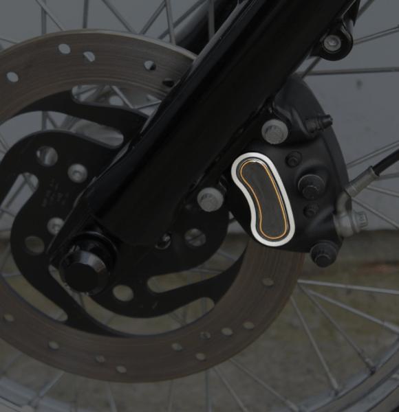 Cam-/ Nockenwellen Cover 3D | Rahmen Orange