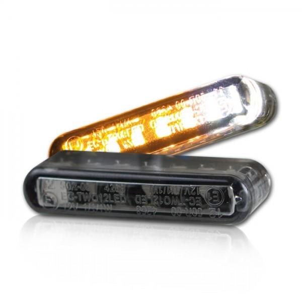 LED Einbaublinker + Positionslicht | 40 x 8 x 13 mm