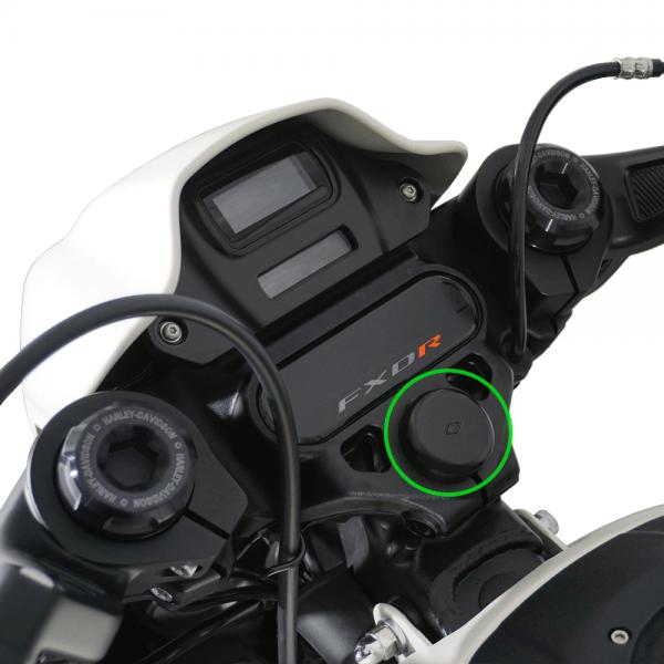 Lenkkopflager Cover Abdeckung für Harley Davidson Sofatil Modelle ab Bj. 2018-
