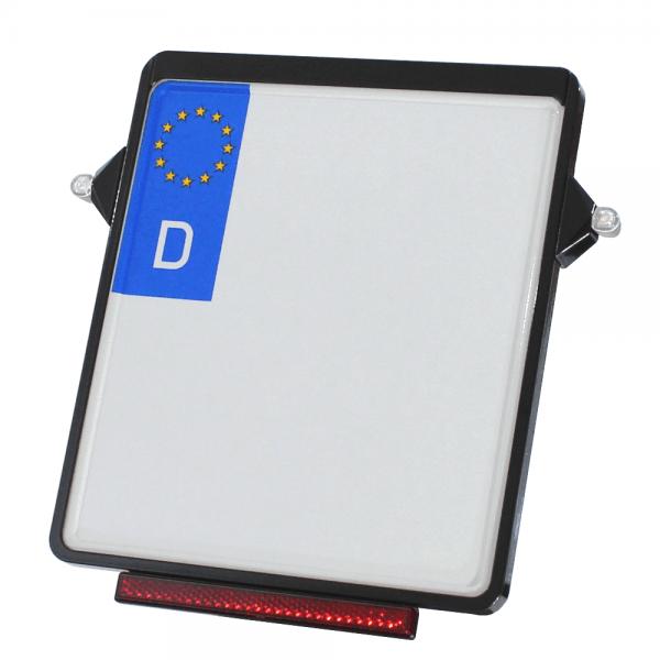 Kennzeichenplatte IOMP | für D8 Blinker