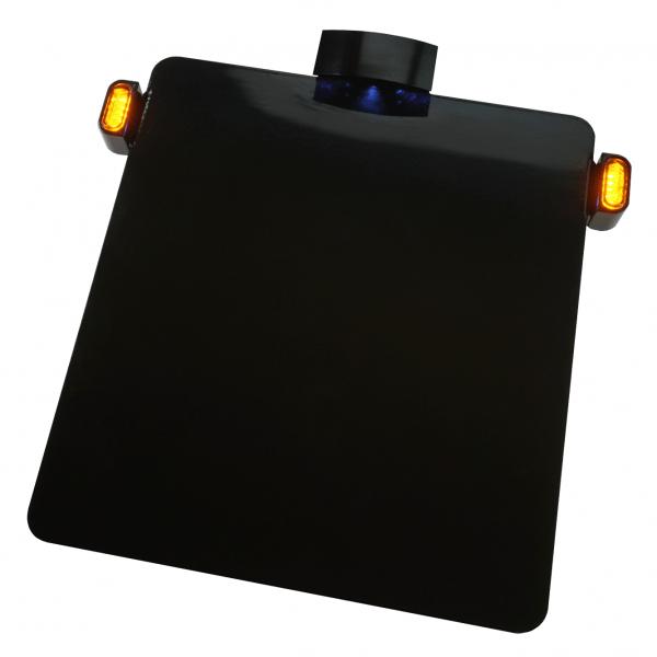 Kennzeichengrundplatte mit SMD Blinker - TIG